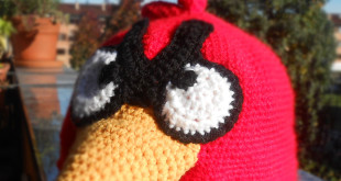 Cappello Angry Birds all'uncinetto. Schema gratis per cappello Angry Birds all'uncinetto