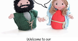 Nativity crochet: free patterns