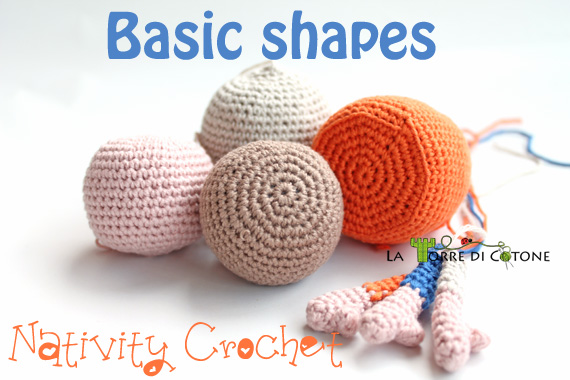 Nativity crochet: basic shapes