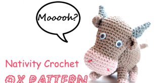 Nativity crochet: Mary pattern