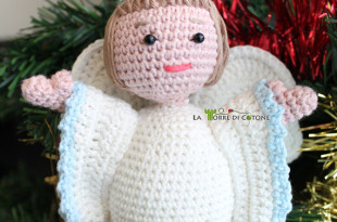 Presepe all'uncinetto #9: Schema Angelo amigurumi