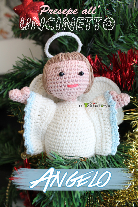 Angeli Amigurumi Tutorial : Presepe all uncinetto #9: Schema Angelo amigurumi - La ...