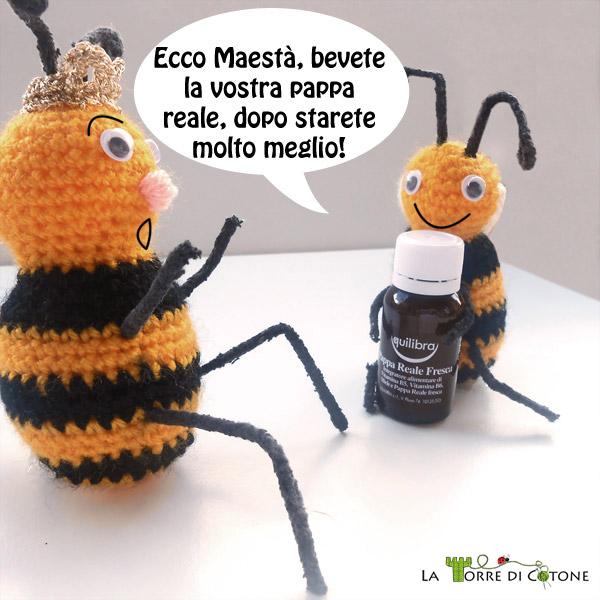 Spiegazioni per fare un'ape amigurumi all'uncinetto