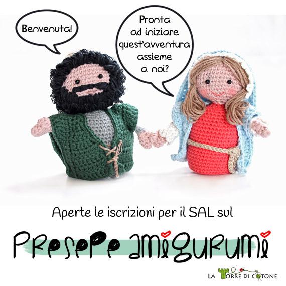 SAL Presepe Amigurumi - Apertura iscrizioni