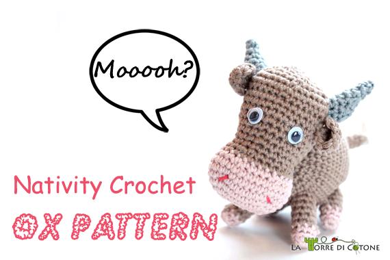 Nativity crochet: Mary pattern