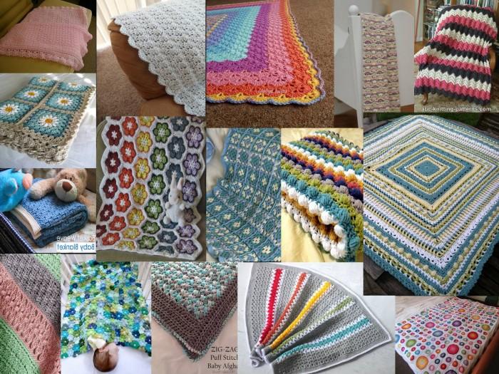 Molto Schemi gratis di copertine per neonato all'uncinetto - La Torre di SA79