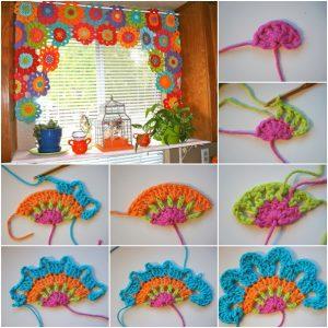 crochet-flower-power-valance