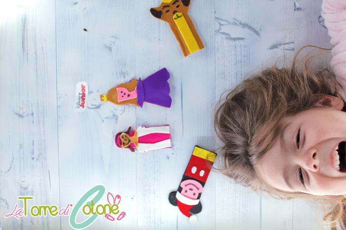 Lavoretti di Natale per bambini Le marionette di Disney Junior